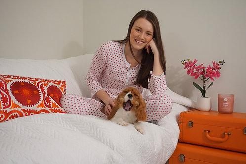 Pink Heart Pajamas