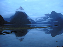 Blue Milford Sound