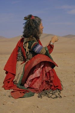 Desert Woman, Peru