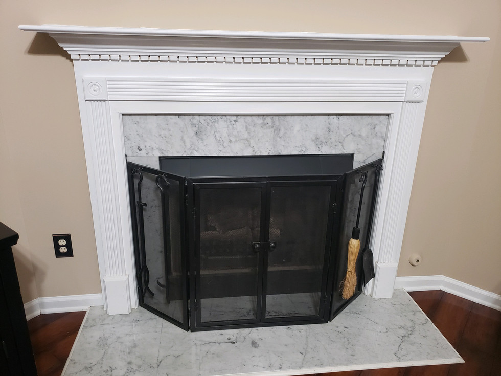 Custom repaint on Fireplace