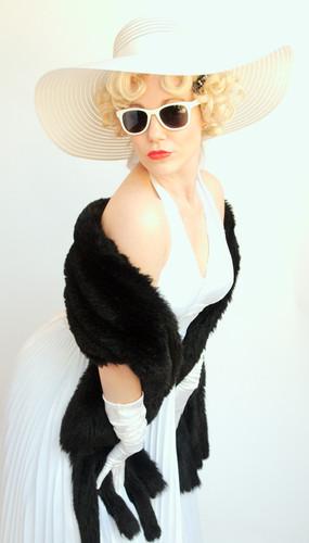 Marilyn inspired shoot