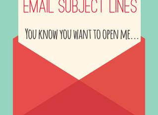 Compelling Subject Lines & Email Messages