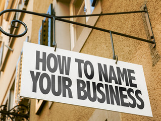 How to Choose a Business or Brand Name