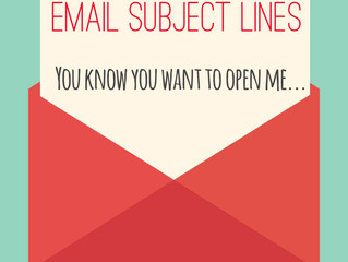 How to Create Good Email Subject Lines
