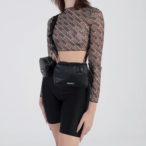 FULL BLACK BUM BAG