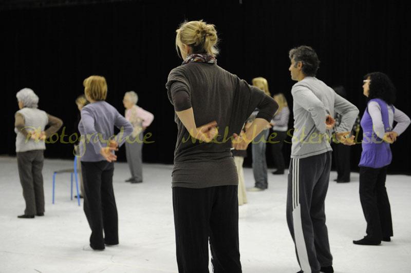 Enseigner la danse aux personnes âgé