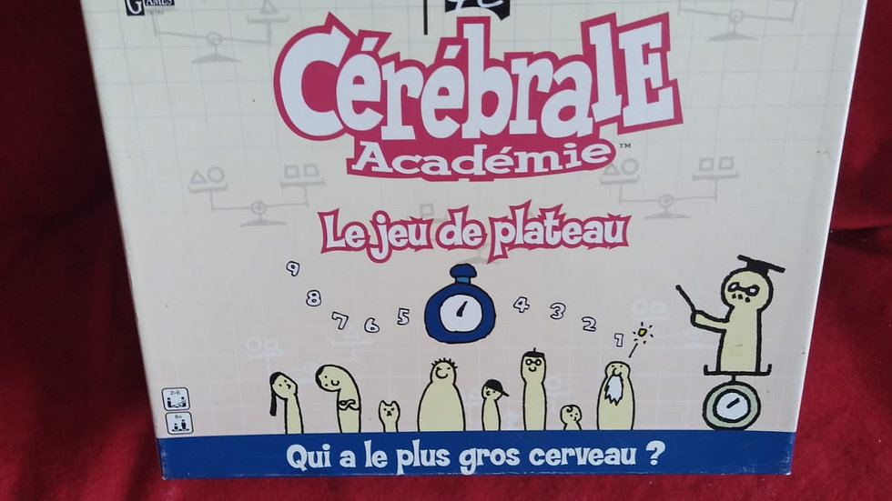 "Jeu de plateau ""cérébrale Academie"""