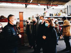 Visite du Président du Conseil départemental de la Haute-Garonne