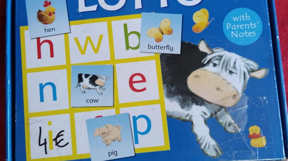 jeu éducatif- alphabet loto