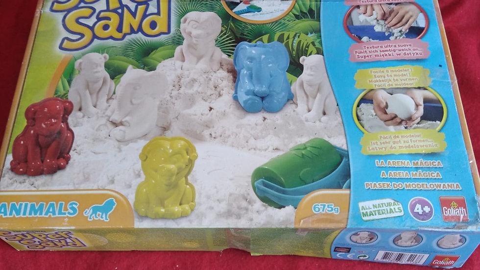 """Le sable à modeler """"Super Sand"""""""