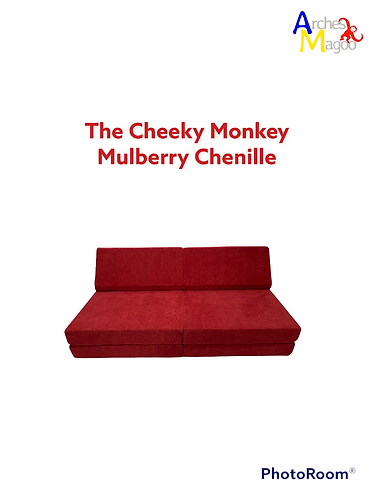 The Cheeky Monkey (Mulberry Chenille)
