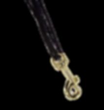 gold hock saxophone strap