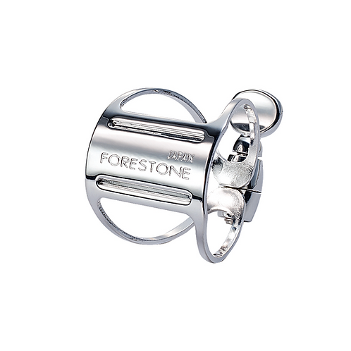 Forestone Ligature Silver Plated for Alto Saxophone
