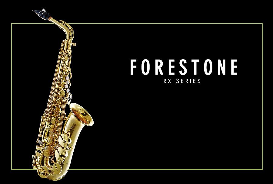 Forestone RX Alto Saxophone Gold Lacquered