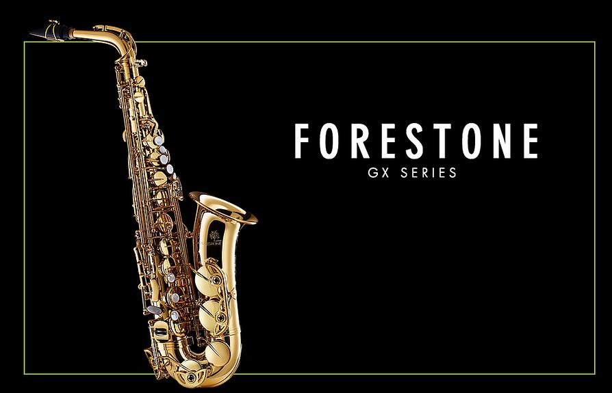 Forestone GX Alto Saxophone Gold Lacquered