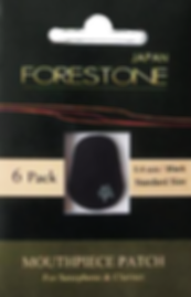 Forestone mouthpiece patch