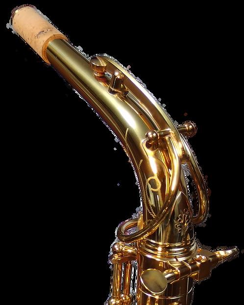 Forestone Vintage Gold Lacquered Alto Saxophone Neck