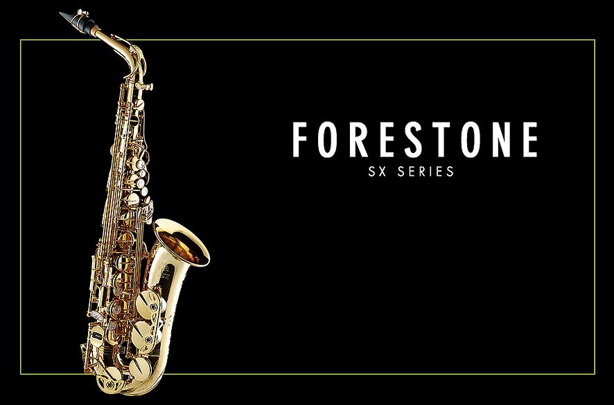 Forestone SX Alto Saxophone Gold Lacquered