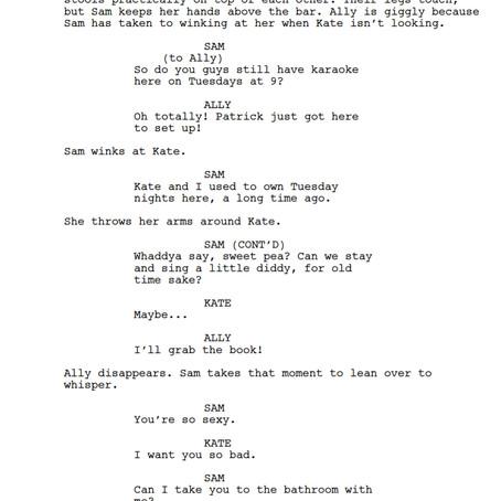 the Flirt, part 2