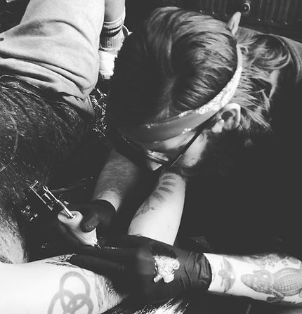 Marko Prenger - Hand Of Hope Tattoo Stockport