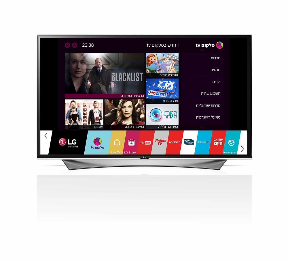 סלקום TV בטלוויזיות Smart TV של LG.jpg.JPG