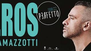 ארוס רמזוטי - הזמר והיוצר האיטלקי - עומד להופיע בישראל עם צוות של 36 איש