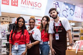 רשת MINISO משיקה סניף חדש בקניון הזהב