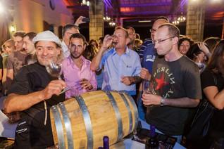 פסטיבל יין - Salute 2015 במתחם התחנה בתל אביב