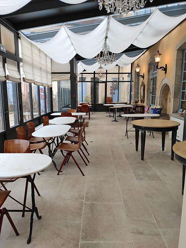 Restaurant local de bourgogne, cadre authentique
