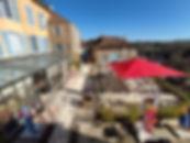 Grande terrasse avec vue Côte d'Or Bourgogne Armançon