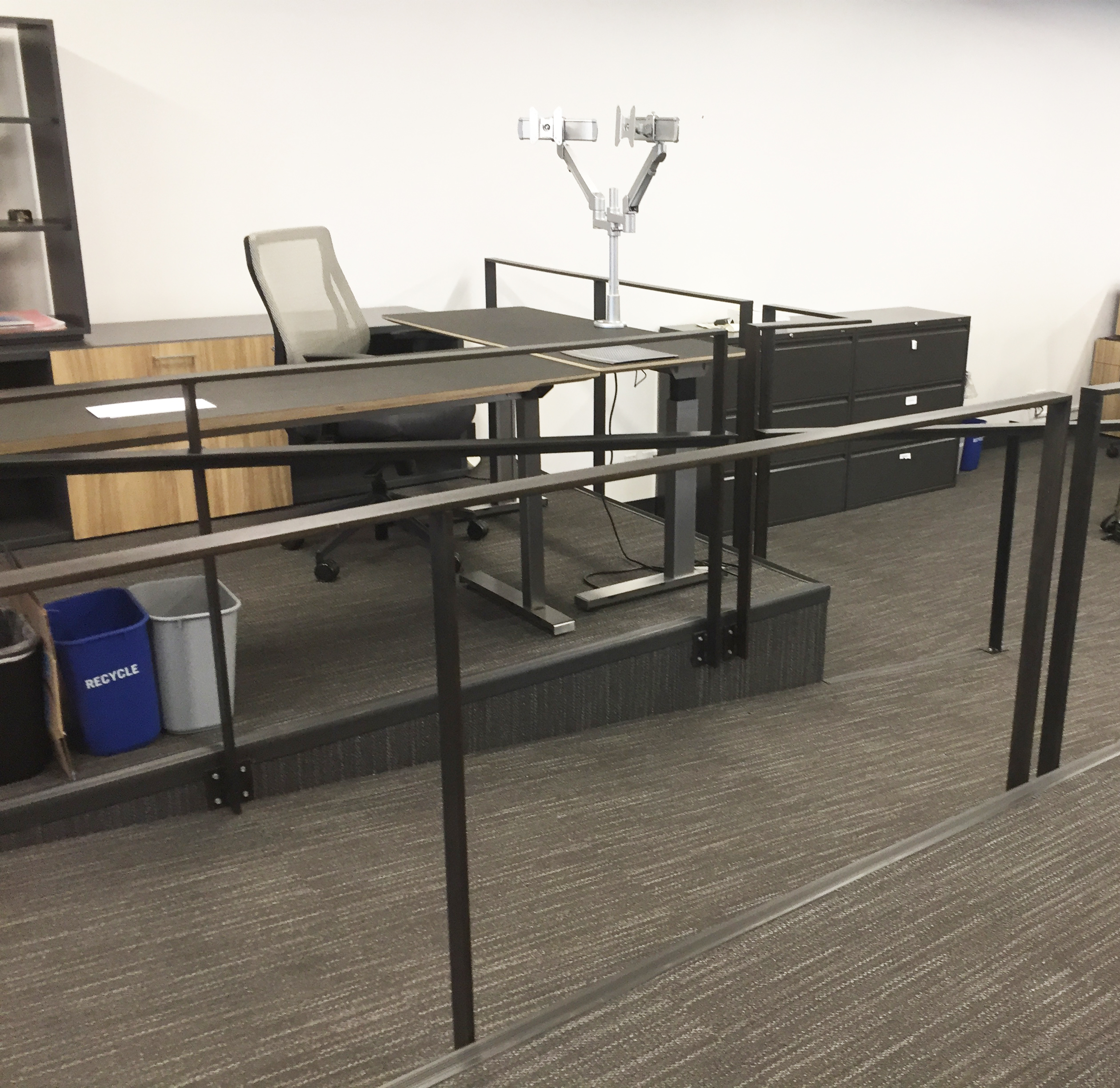 Interior Office Railing