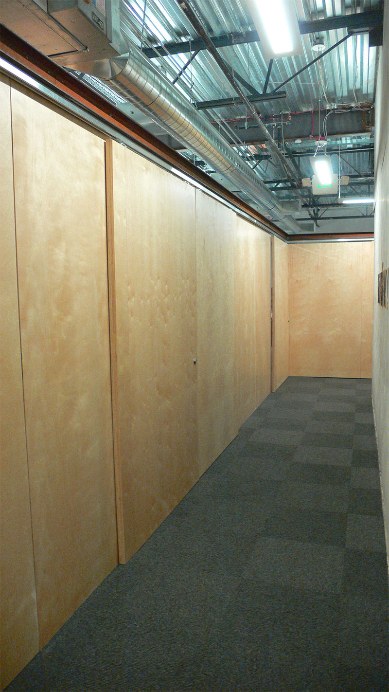 SKL Office- Panels Closed