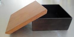 Steel and Wood Box