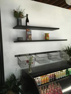 Plum Chopped Hanging Baskets