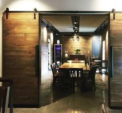 Heritage restaurant doube doors