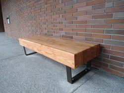 glulam benches kcls kingsgate library