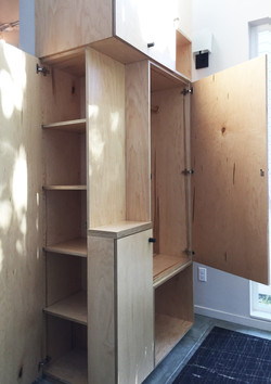 Entry Cabinet Open