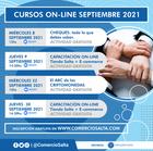 CURSOS ON-LINE SEPTIEMBRE 2021