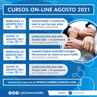 CURSOS ON-LINE AGOSTO 2021