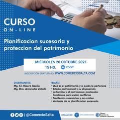 CURSO: Planificación sucesoria y protección del patrimonio (ACTIVIDAD GRATUITA)