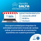 CAPACITACIONES AGOSTO 2021 DE COMERCIO ELECTRONICO JUNTO A TIENDA SALTA