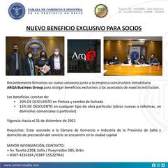 FIRMAMOS UN NUEVO CONVENIO, BENEFICIO EXCLUSIVO PARA NUESTROS SOCIOS