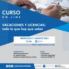 CURSO: VACACIONES Y LICENCIAS (GRABACIÓN)