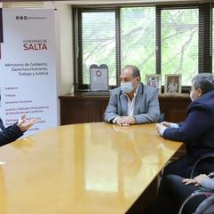 REUNIÓN CON EL GOBIERNO DE LA PROVINCIA DE SALTA