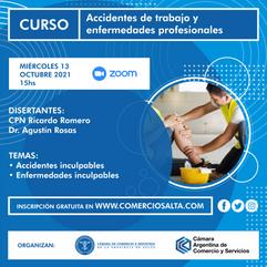 CURSO: Accidentes y enfermedades inculpables (ACTIVIDAD GRATUITA)