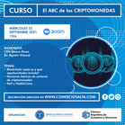 CURSO: El ABC de las criptomonedas (GRABACIÓN)