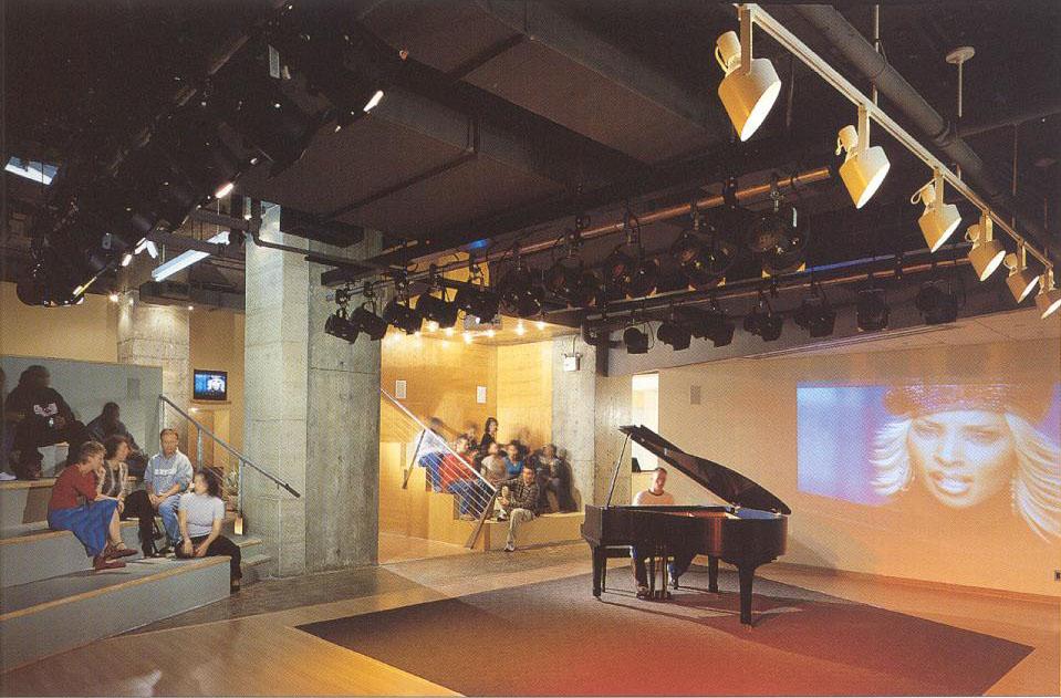 MCA Artist studio