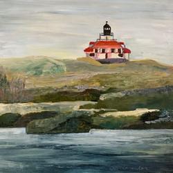 Schneider, Deb-Lighthouse at Winter Harbor