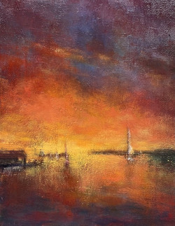 Garity J Into The Night oil