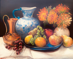 Moffat, Sarita- Autumn Harvest 18 x 22